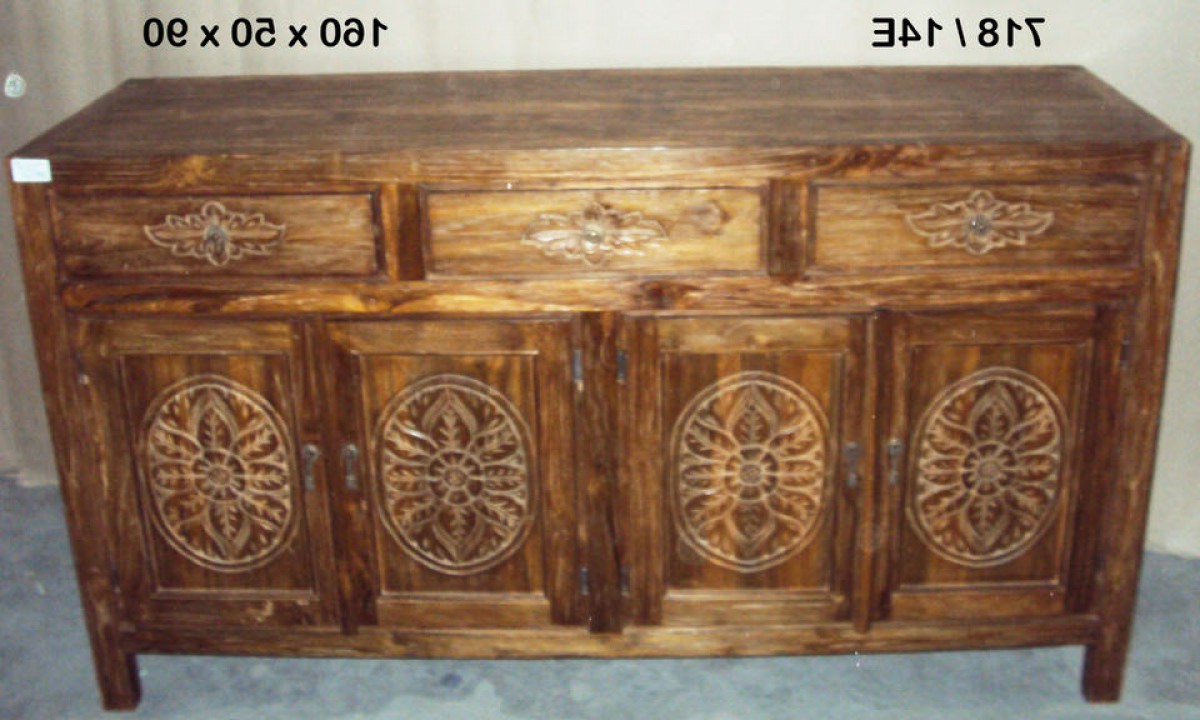 Ironwood 4 Door Sideboards For Most Recently Released Java 4 Door 3 Drawers Sideboard (Gallery 10 of 20)