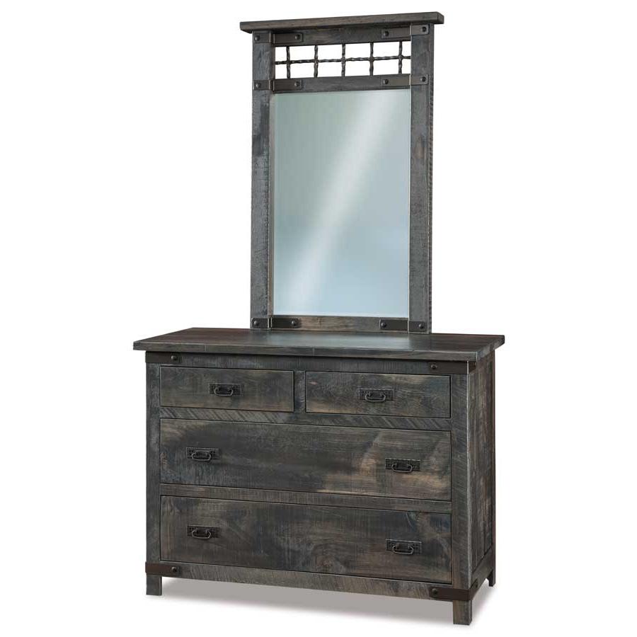 Ironwood 4 Door Sideboards In Fashionable Ironwood 4 Drawer Dresser – Buy Custom Amish Furniture (Gallery 2 of 20)