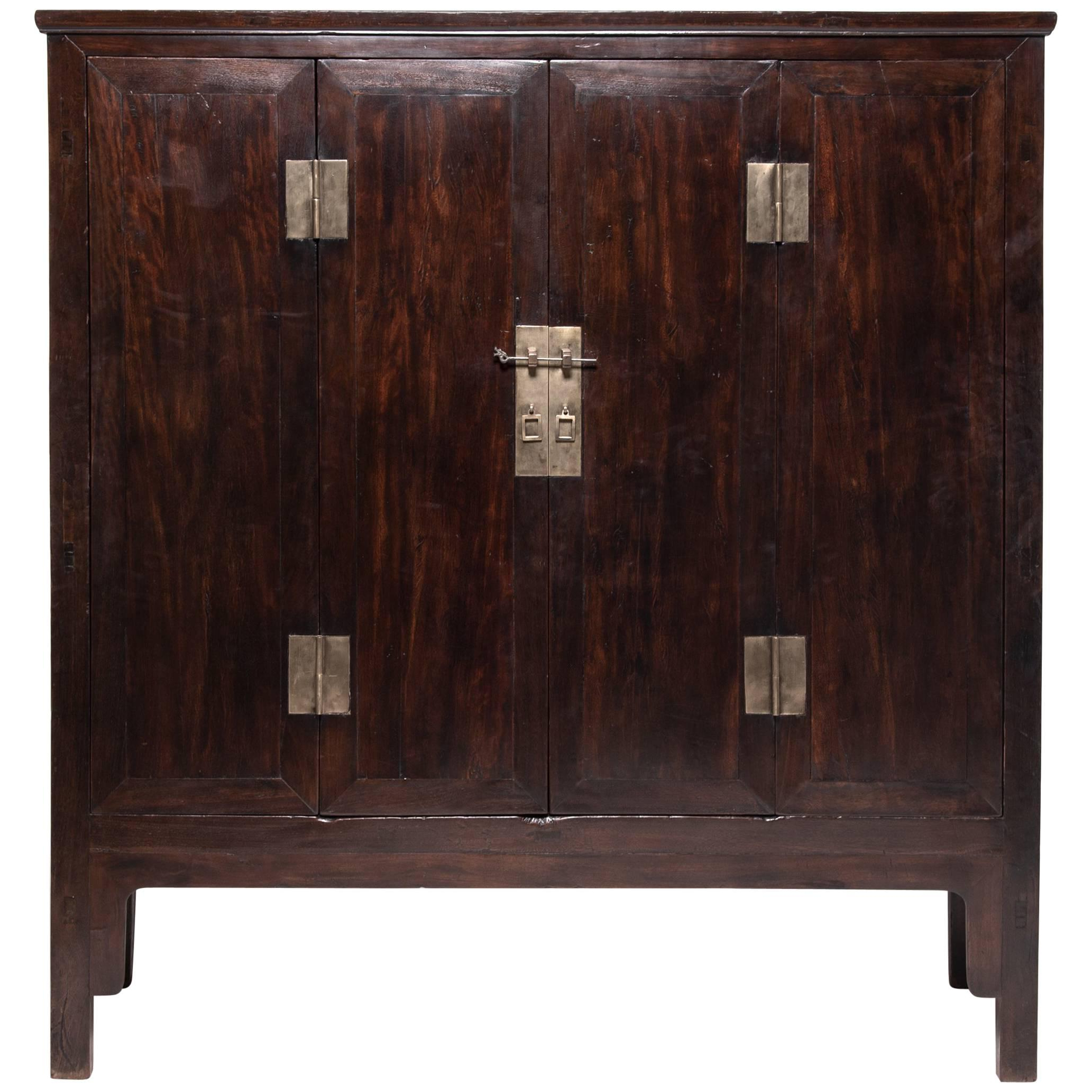 Ironwood 4 Door Sideboards Throughout Most Popular 19th Century Chinese Fine Ironwood Cabinet For Sale At 1stdibs (View 6 of 20)