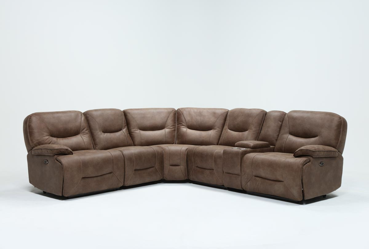 Featured Photo of Jackson 6 Piece Power Reclining Sectionals