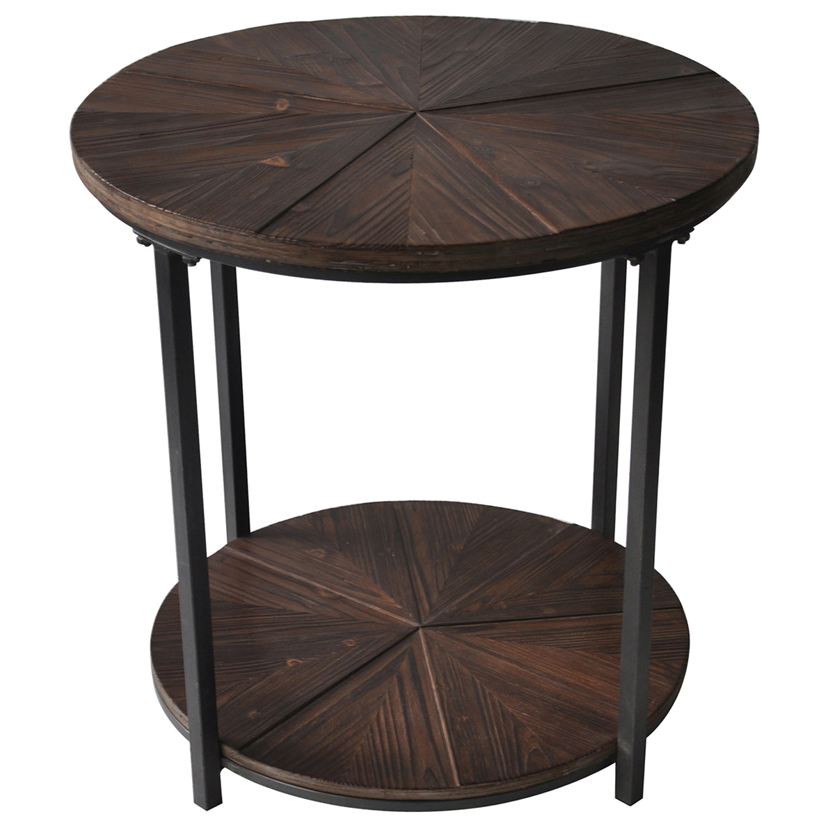 Jackson Marble Side Tables In Best And Newest Tea Table Design : The Terrific Fun Black Metal And Wood End Tables (Gallery 3 of 20)