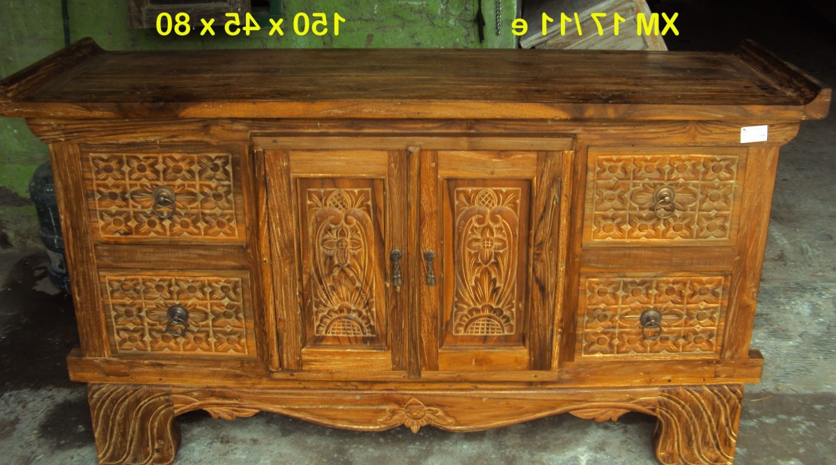 Java Buffet/vanity 2 Door 4 Drawer (View 12 of 20)