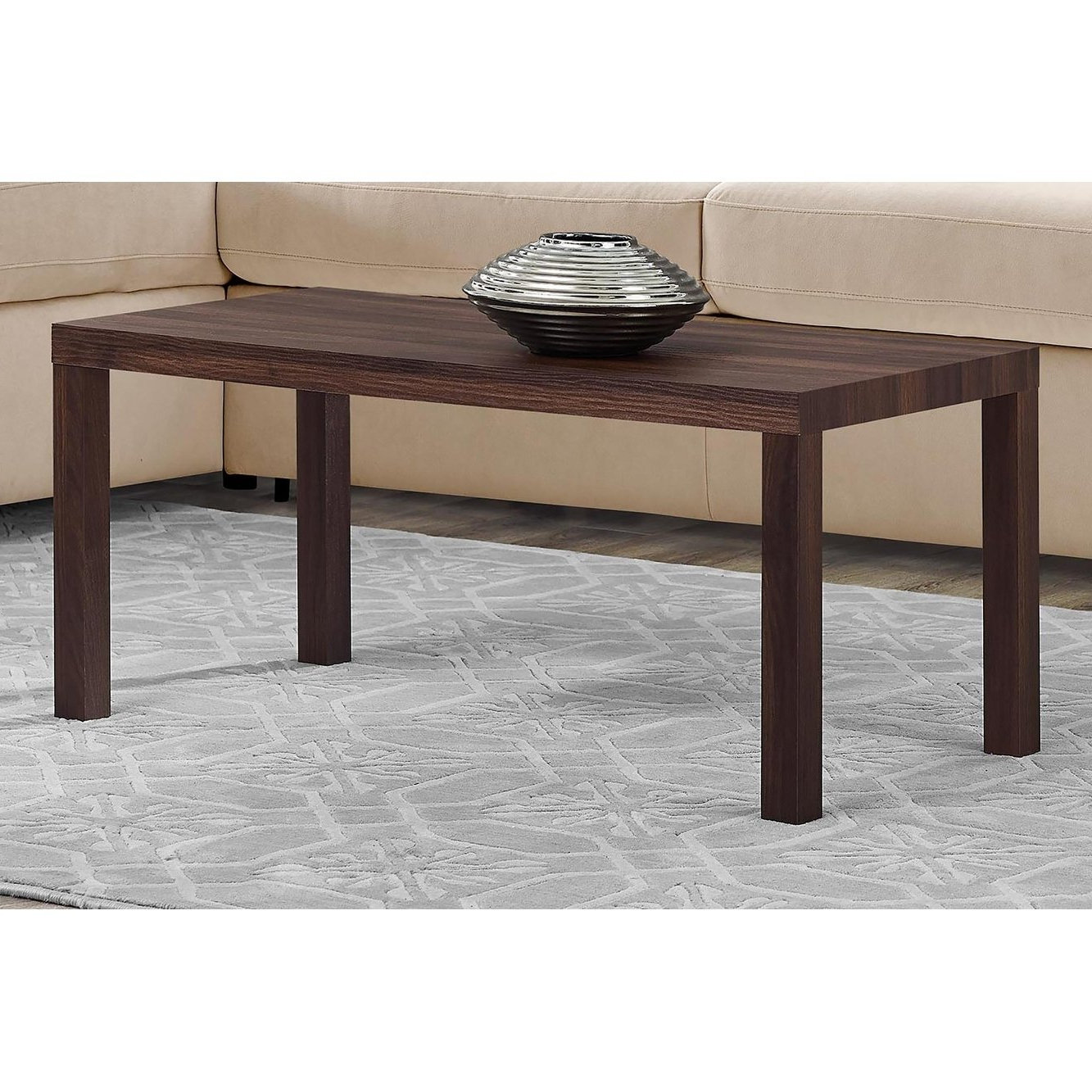 Jaxon Cocktail Tables Regarding Most Up To Date Shop Avenue Greene Jaxon Walnut Coffee Table – Free Shipping Today (Gallery 4 of 20)