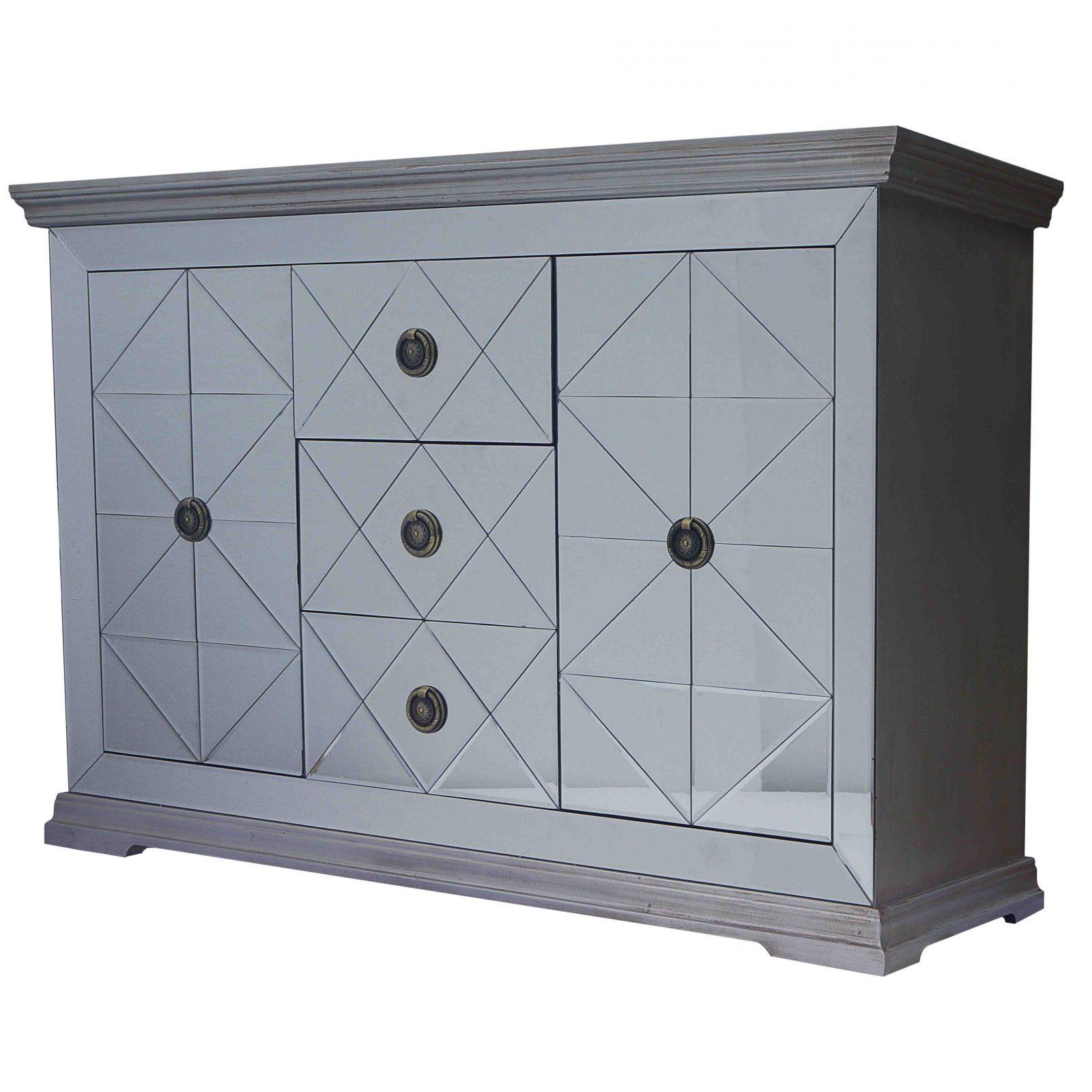 Jaxon Grey Sideboards Intended For Trendy Jaxon Mirrored Sideboard 3 Drawers + 2 Doors – Boulevard Urban Living (Gallery 3 of 20)