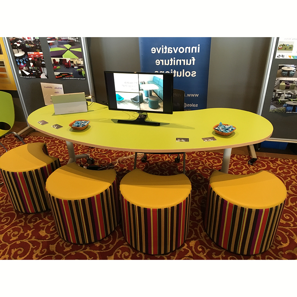 Jelly Bean Coffee Tables For Latest Jelly Bean Table Tilt & Folding Table Rangeabax Kingfisher Pty Ltd (View 2 of 20)