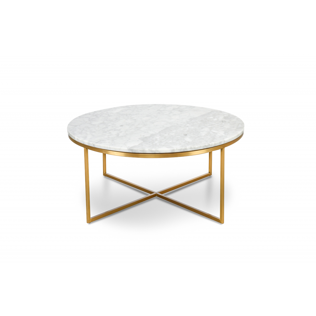 Jelly Bean Coffee Tables Inside Well Liked Valentina Marble And Brass Coffee Table – Quality – (View 11 of 20)
