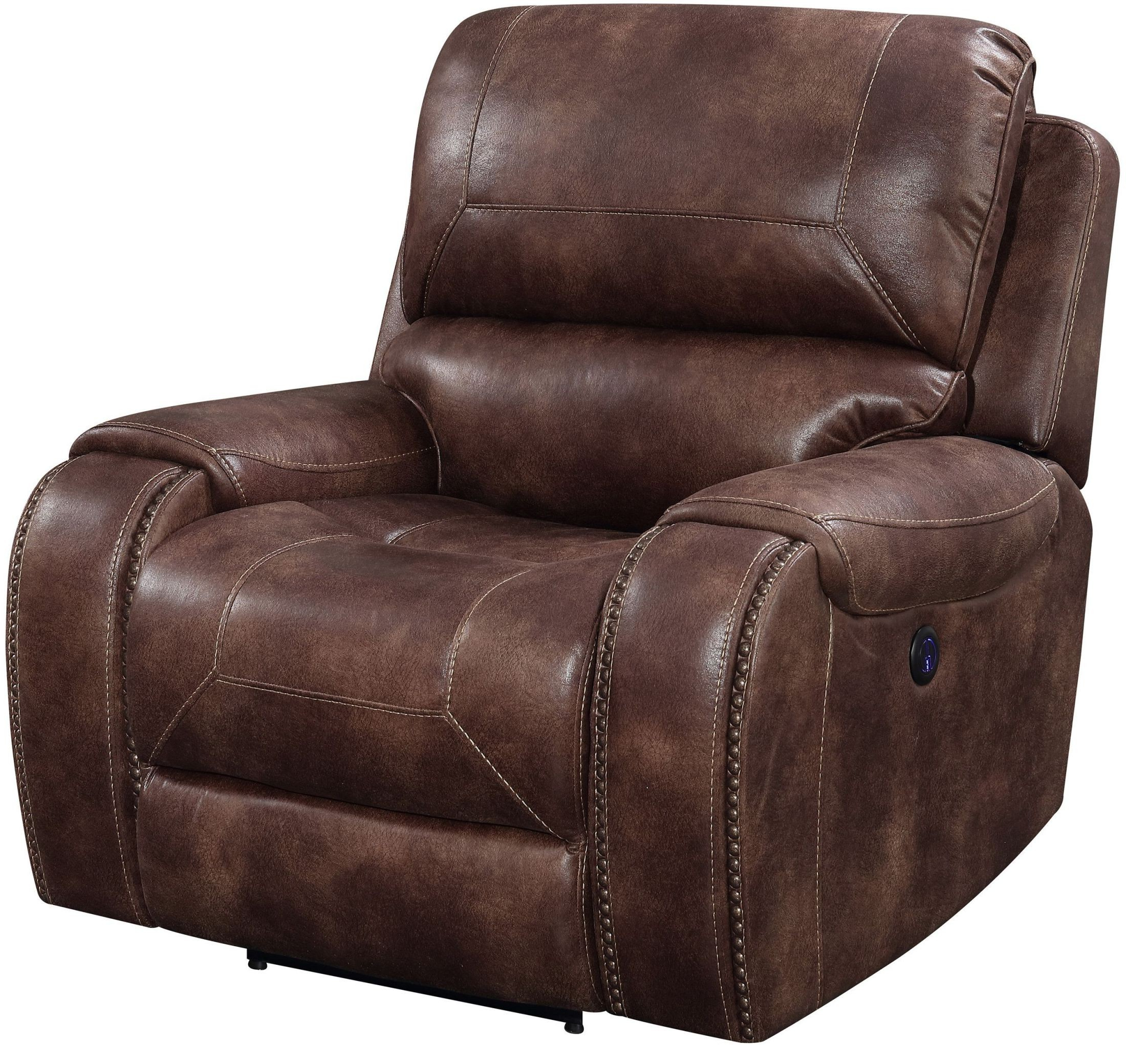 Jennings Waylon Mocha Power Recliner From Prime Resource Pertaining To Famous Waylon 3 Piece Power Reclining Sectionals (Gallery 8 of 20)