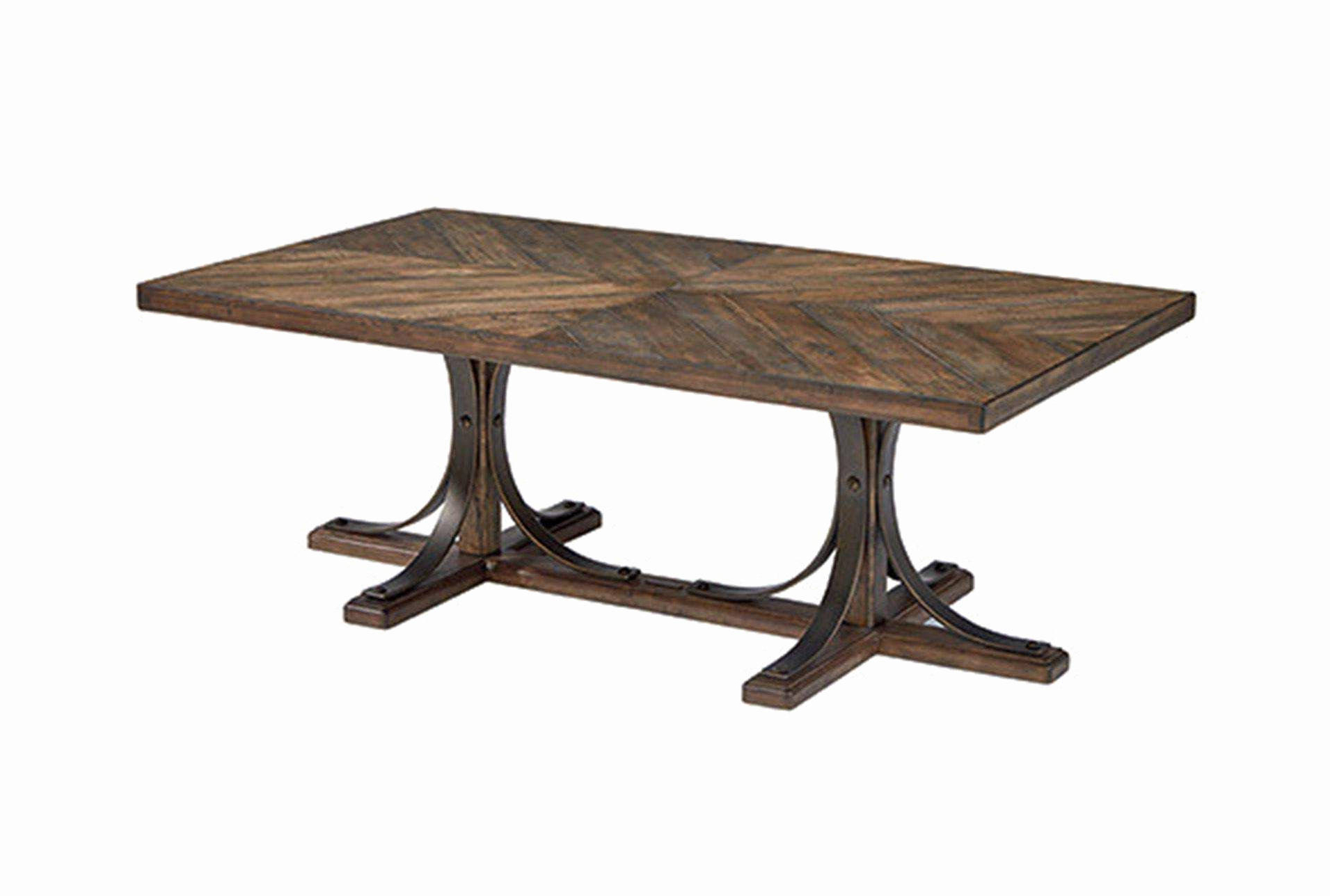 Joanna Gaines Coffee Table Best Of Magnolia Home Iron Trestle With Regard To Latest Magnolia Home Louver Cocktail Tables (View 9 of 20)