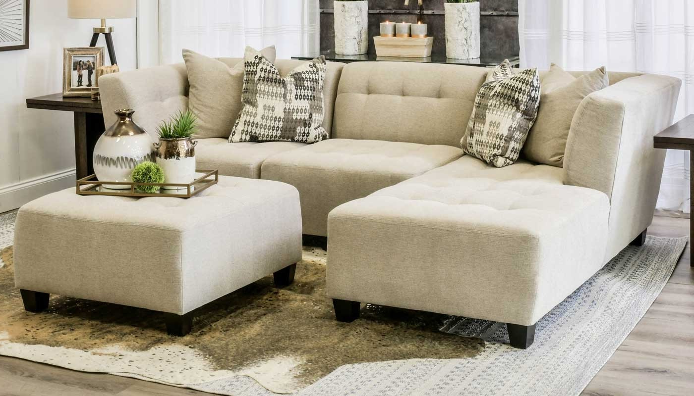 Jobs Oat 2 Piece Sectionals With Left Facing Chaise Throughout Trendy Cooper Oatmeal 3 Piece Sectional – Home Zone Furniture (View 7 of 20)
