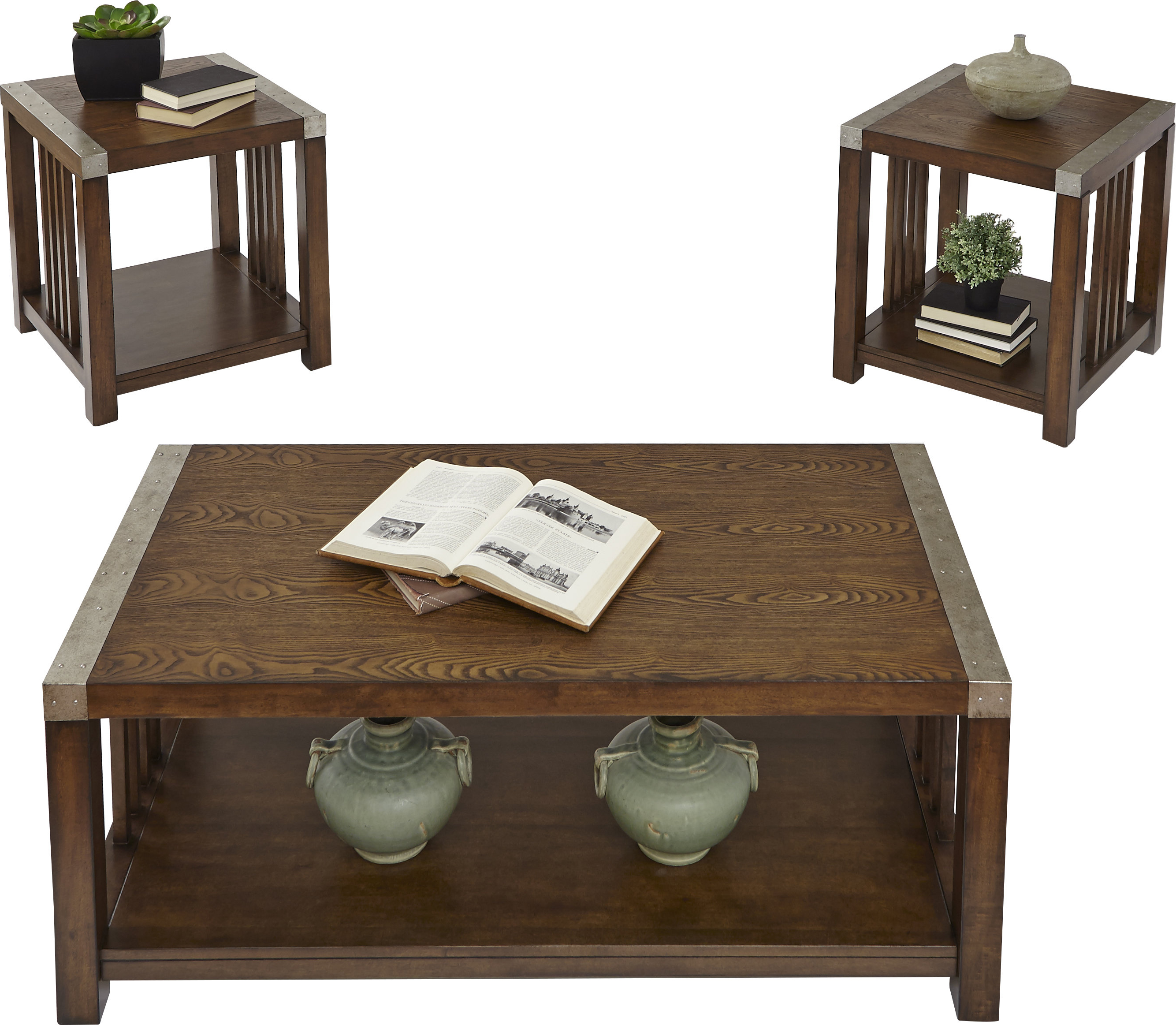 Jonah Lift Top Cocktail Tables With Most Up To Date Loon Peak Creede 3 Piece Coffee Table Set & Reviews (View 6 of 20)