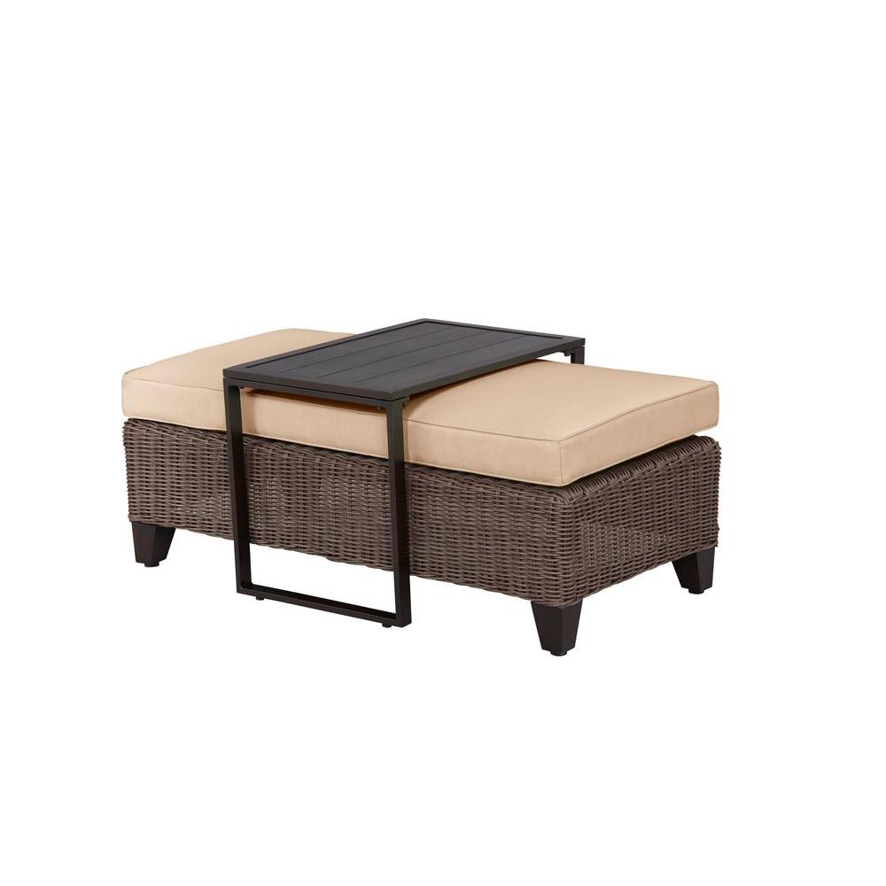 Jordan Cocktail Tables Regarding Fashionable Brown Jordan – Outdoor Coffee Tables – Patio Tables – The Home Depot (View 9 of 20)