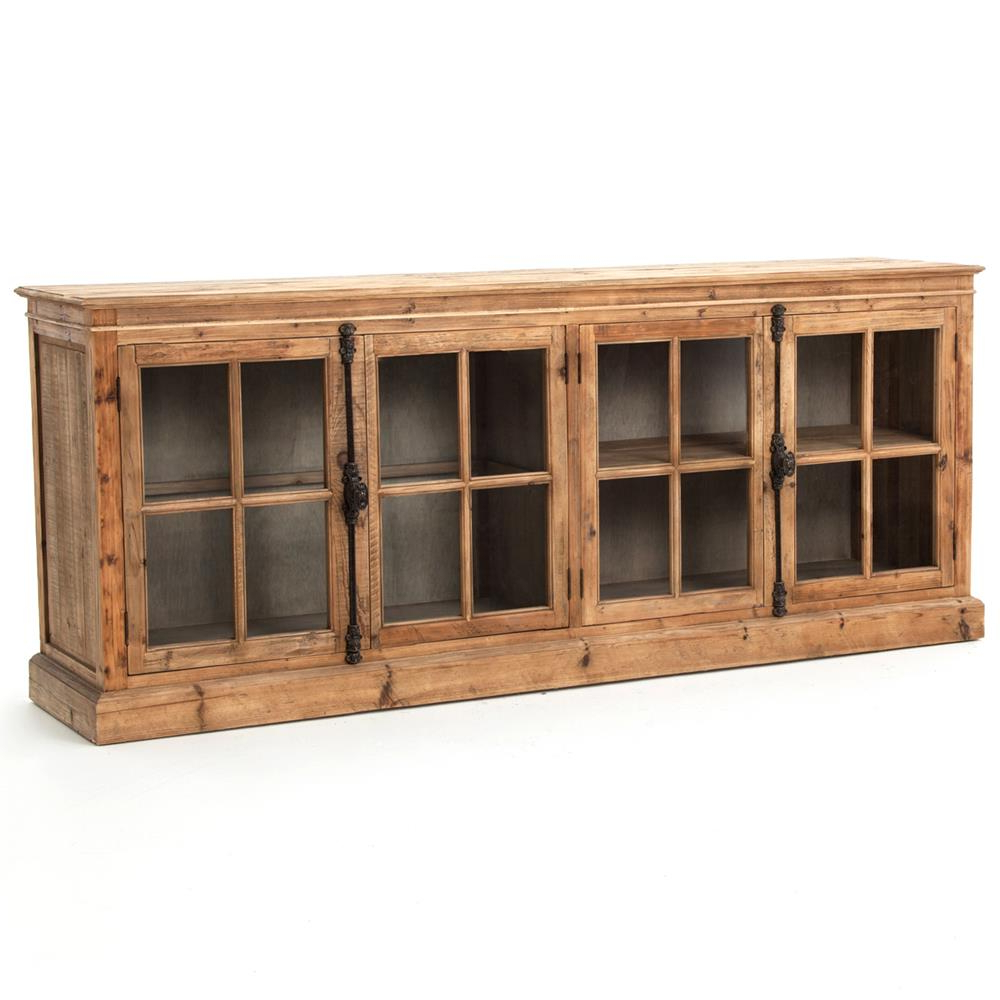 Kathy Kuo Home For Reclaimed Pine & Iron 72 Inch Sideboards (Gallery 11 of 20)
