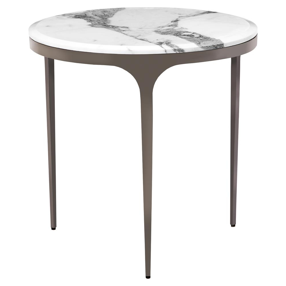 Kathy Kuo Home Intended For Gunmetal Coffee Tables (View 12 of 20)
