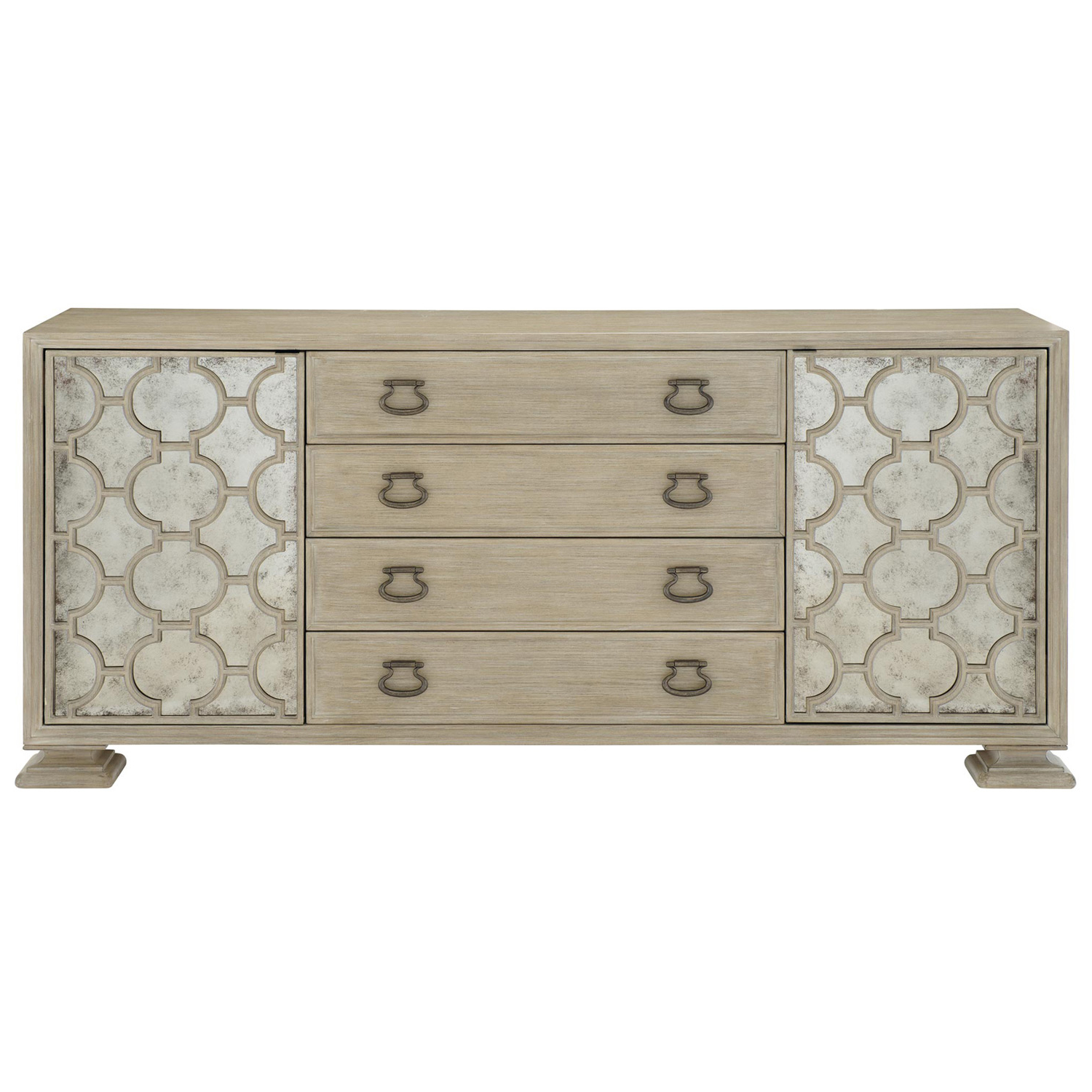Kathy Kuo Home Intended For Newest Aged Brass Sideboards (Gallery 16 of 20)