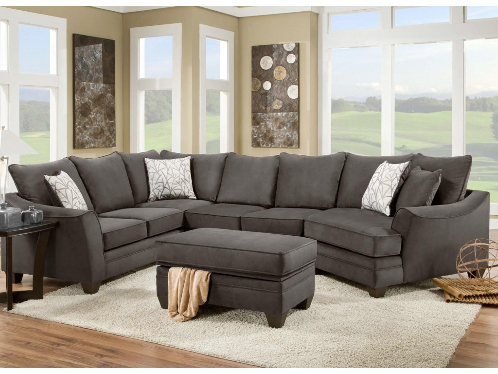 Kerri 2 Piece Sectionals With Raf Chaise Within Fashionable Kerri 2 Piece Sectional W Raf Chaise Living Spaces Couch (View 12 of 20)