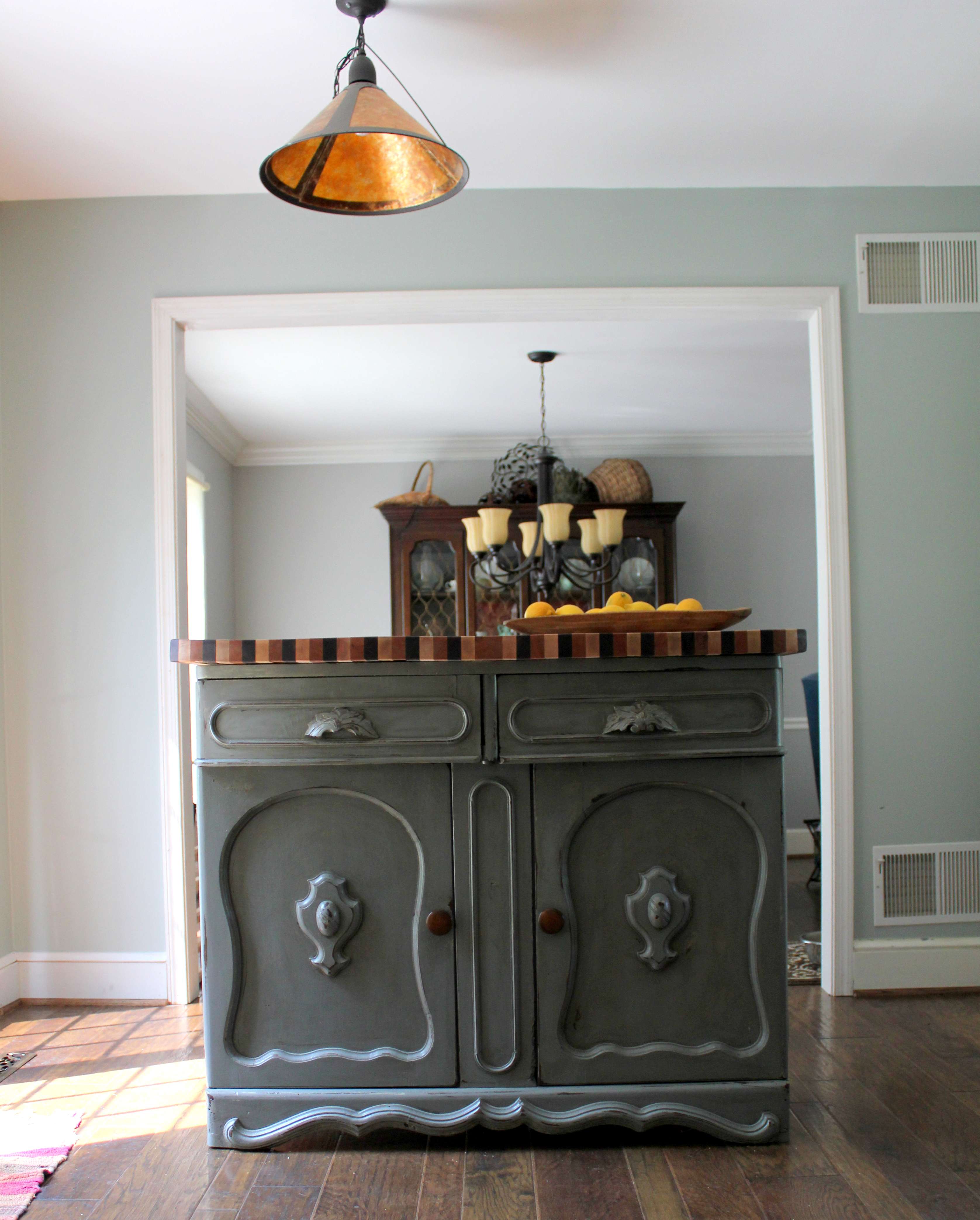 Kitchen Island From Antique Sideboard (Gallery 16 of 20)