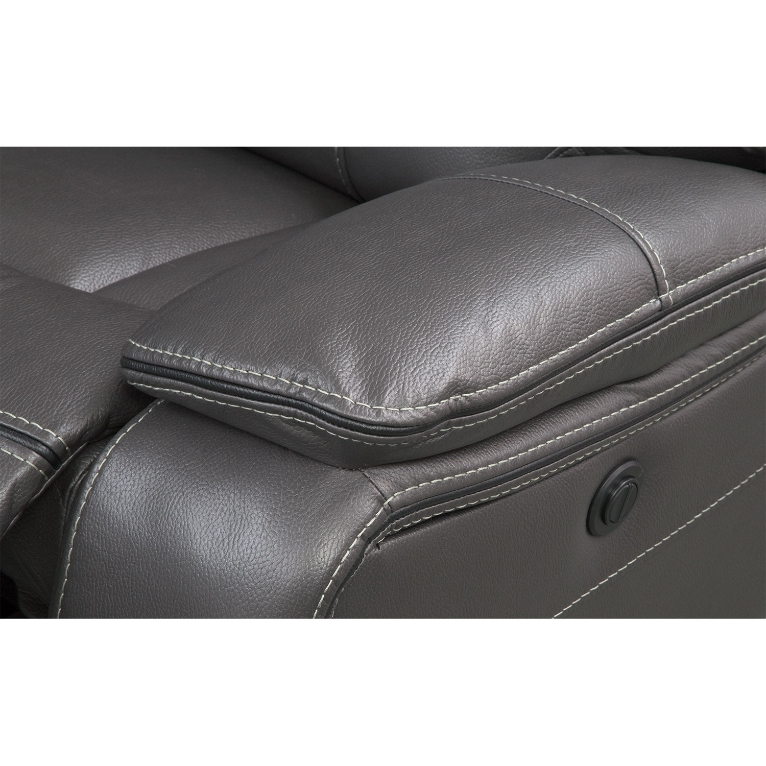 Kristen Silver Grey 6 Piece Power Reclining Sectionals Inside Most Recently Released Orlando 6 Piece Power Reclining Sectional With 1 Stationary Chair (View 9 of 20)