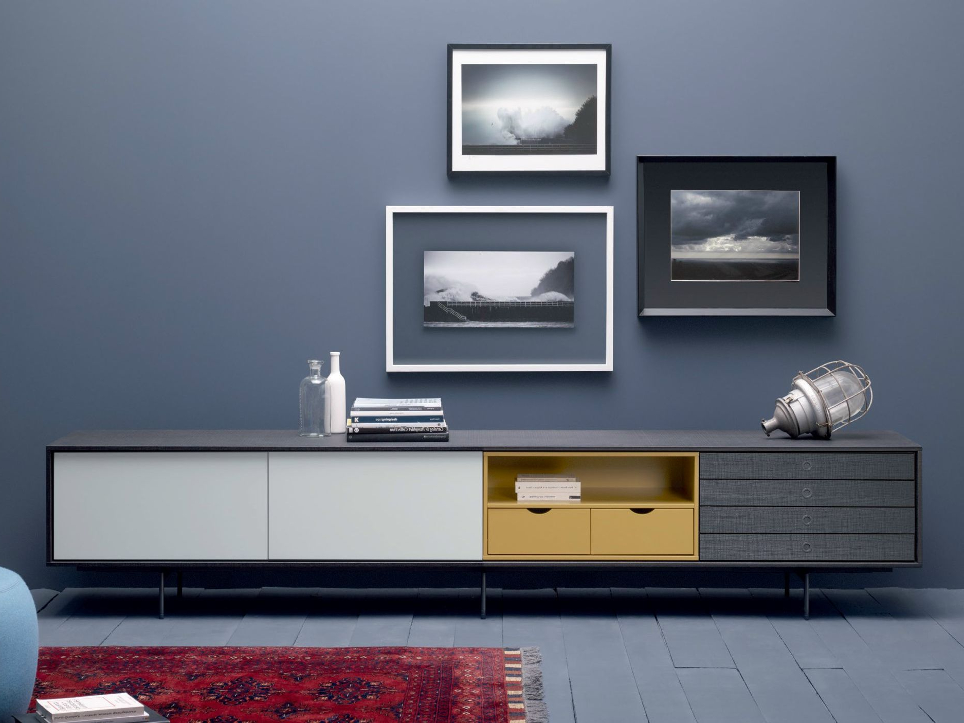 Lacquered Wooden Sideboard Aura C8 Aura Collectiontreku (Gallery 17 of 20)