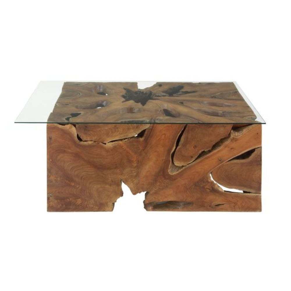 """Large Teak Coffee Tables Within Best And Newest Shop 40"""" X 18"""" Large Live Edge Teak Coffee Tablestudio 350 – On (Gallery 14 of 20)"""