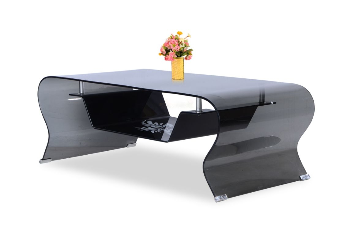 Lassen Square Lift Top Cocktail Tables In Recent Zee Black Glass Coffee Table From Durian Is Made From Curved (View 14 of 20)