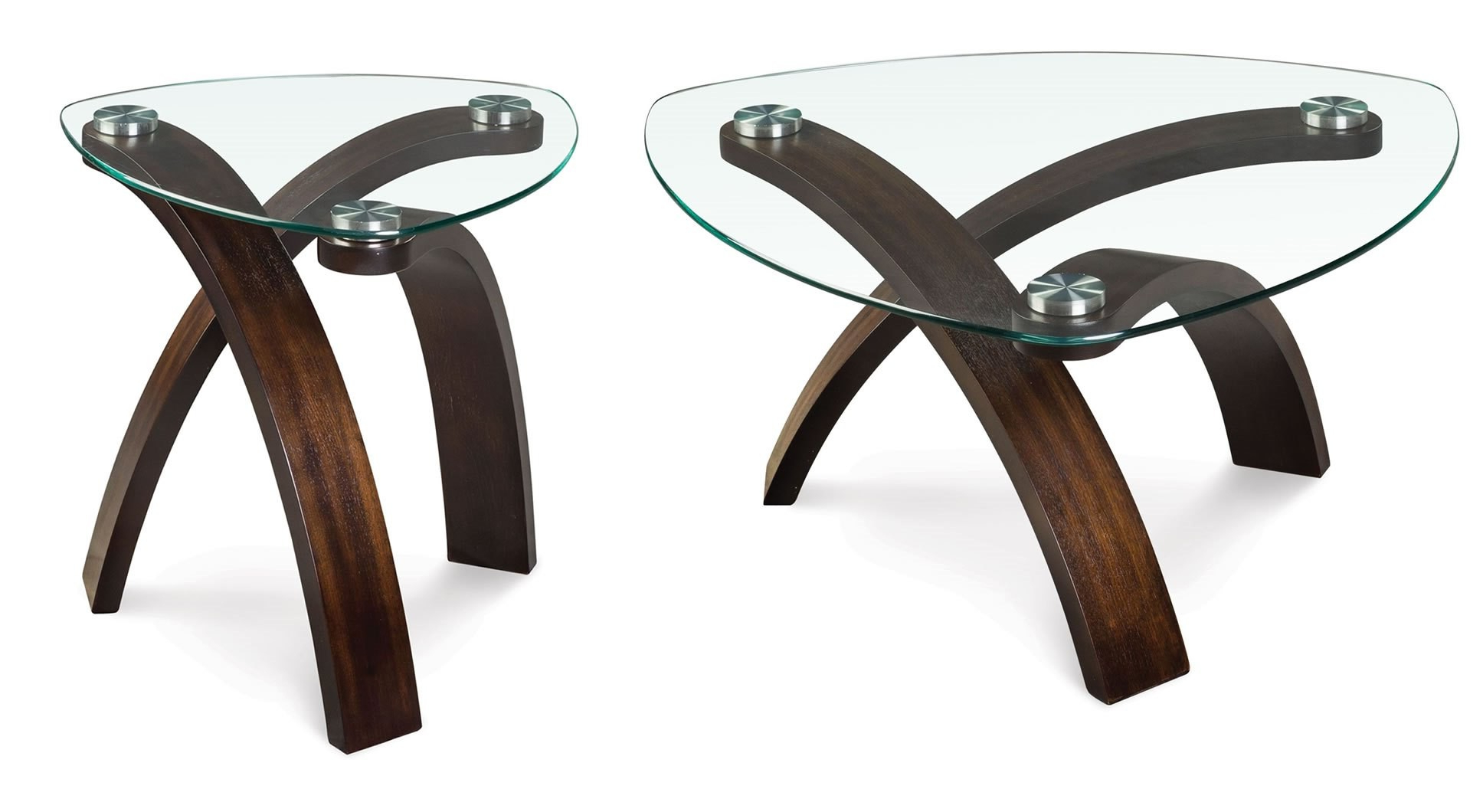 Latest Allure Cocktail Tables Throughout Magnussen Allure Pie Shaped Cocktail Table – Allure Collection: (View 7 of 20)