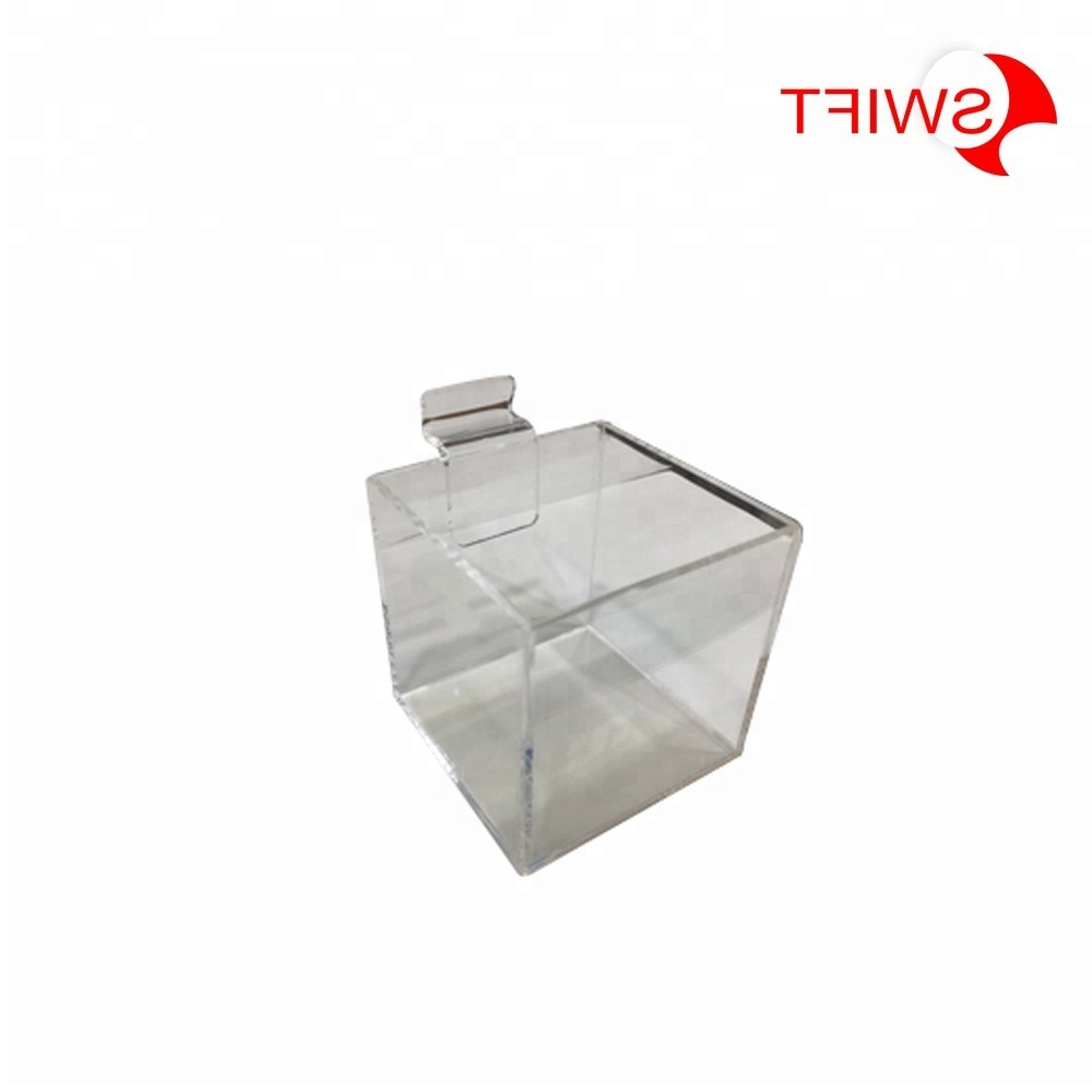 Latest Clear Acrylic Box Stand, Clear Acrylic Box Stand Suppliers And For Corrugated White Wash Barbox Coffee Tables (View 11 of 20)