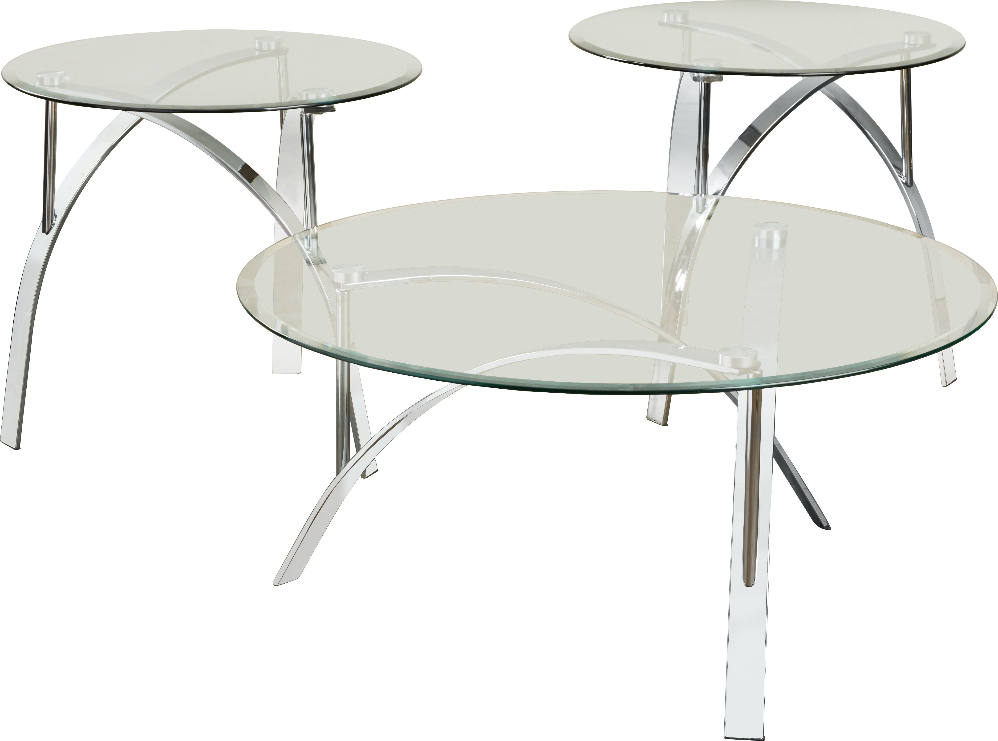 Latest Felicity Cocktail Tables Within Orren Ellis Raiana 3 Piece Coffee Table Set & Reviews (View 7 of 20)