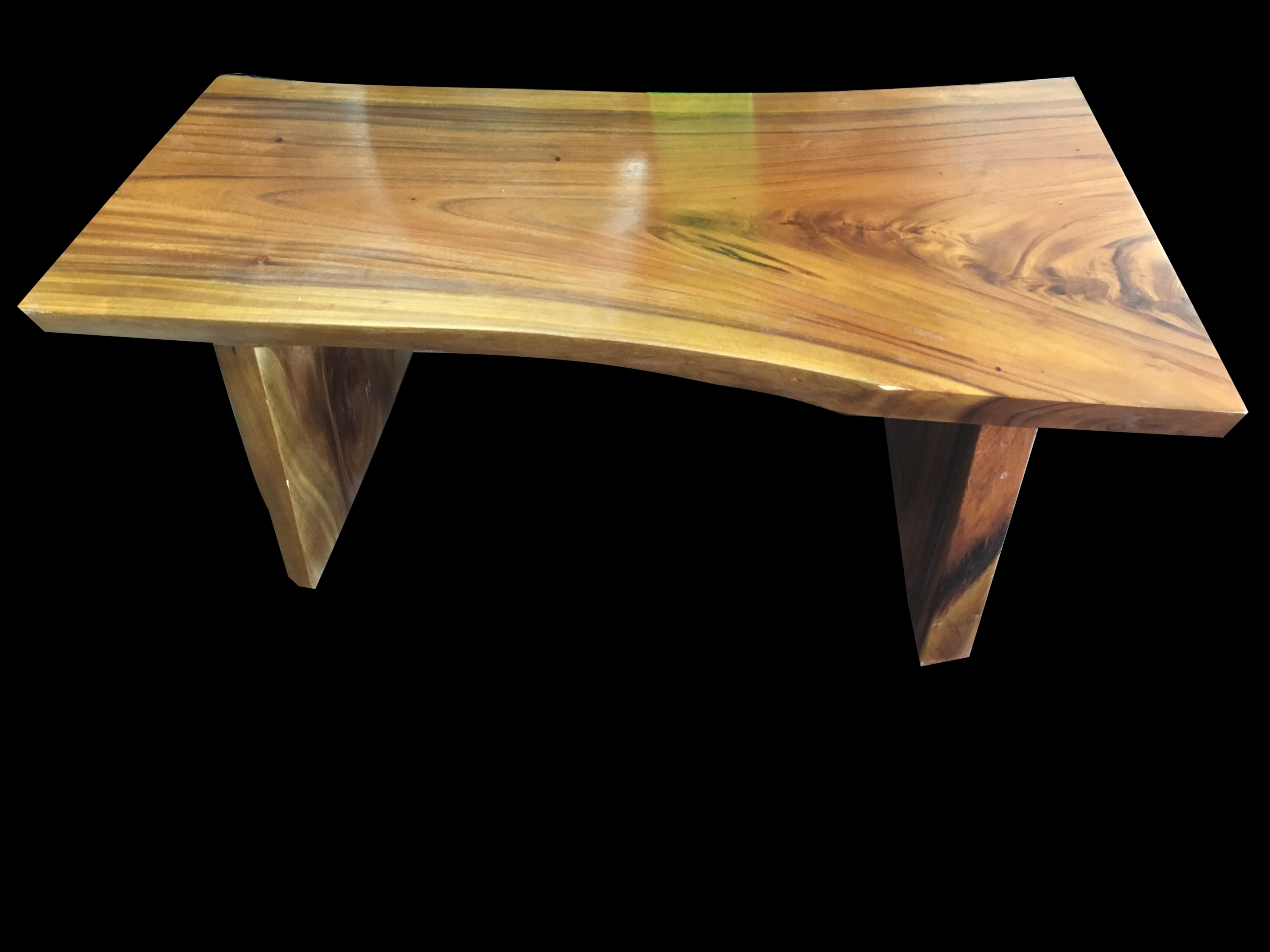 Latest Live Edge Teak Coffee Tables Inside Solid Teak Live Edge Coffee Table – Primefurniturehouston (Gallery 1 of 20)