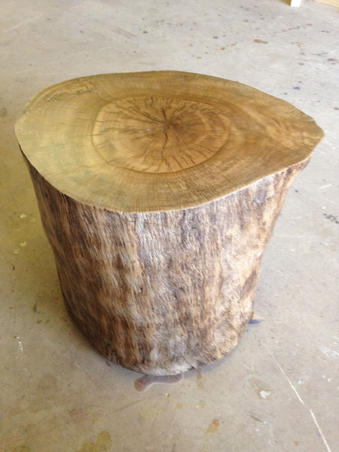 Latest Moraga Barrel Coffee Tables Within Wood Stump – Wood Stump Side Table – Wood Coffee Table – Tree Stump (Gallery 15 of 20)