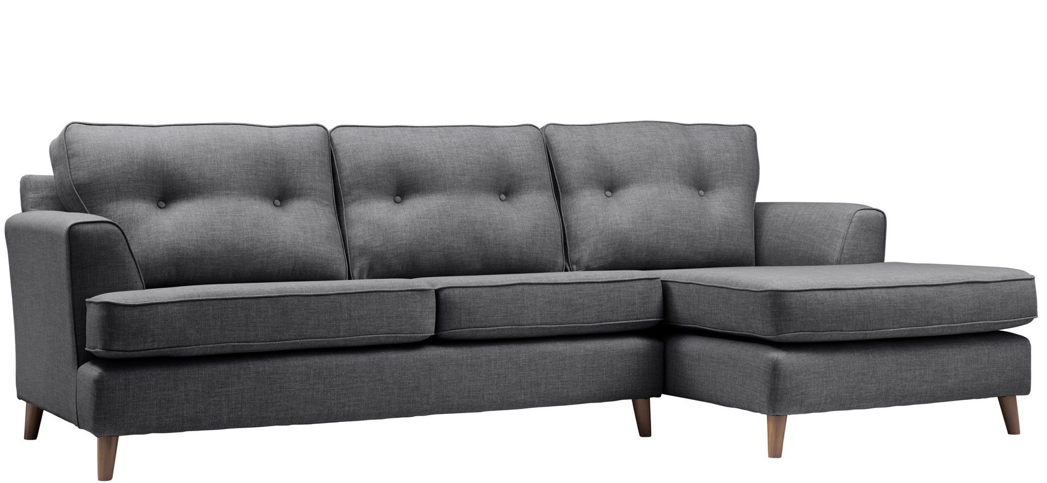 Latest Norfolk Chocolate 3 Piece Sectionals With Raf Chaise With Location Chaise Option (Gallery 20 of 20)