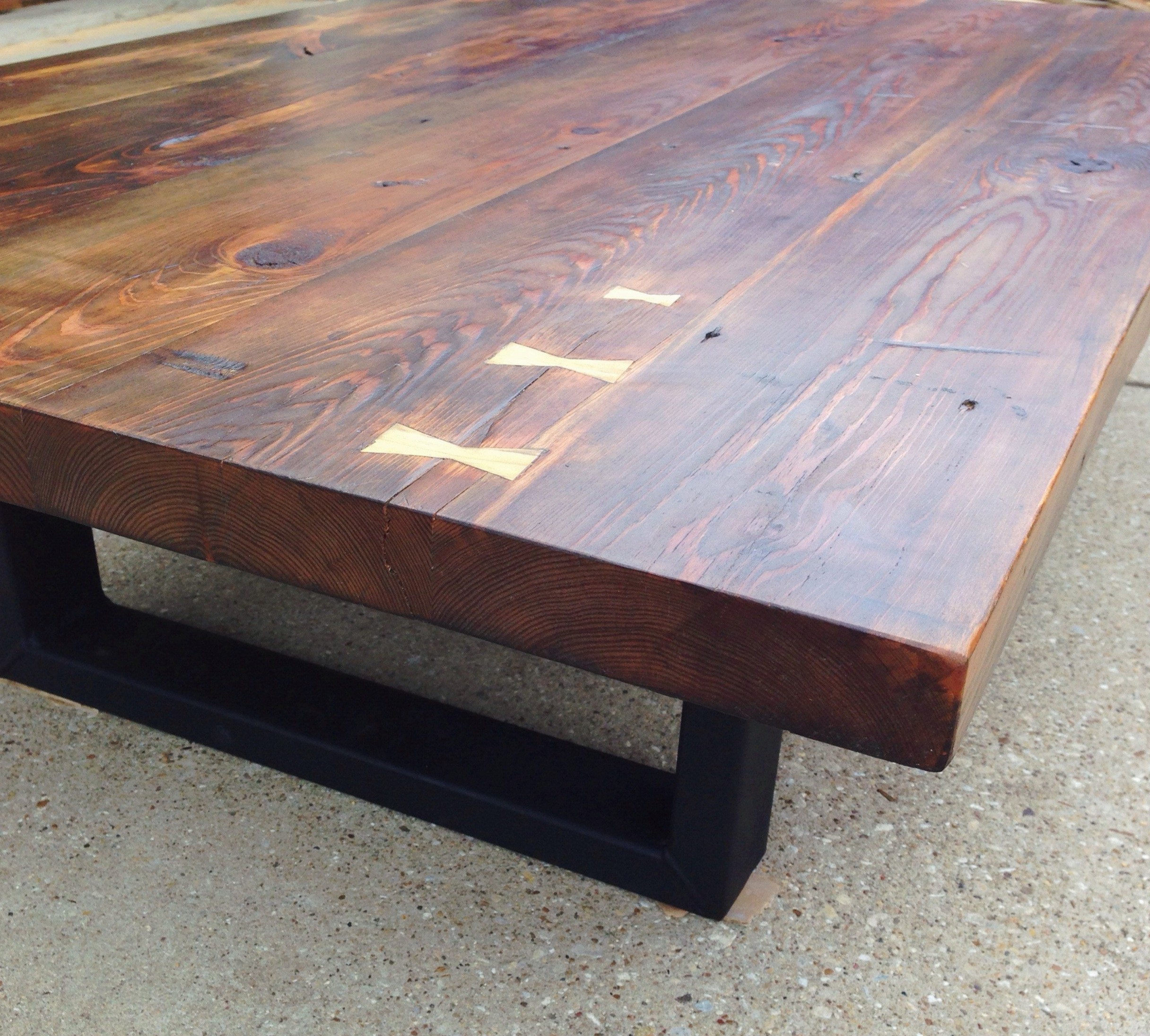 Latest Reclaimed Pine Coffee Tables Intended For Reclaimed Southern Yellow Pine Coffee Table (Gallery 12 of 20)