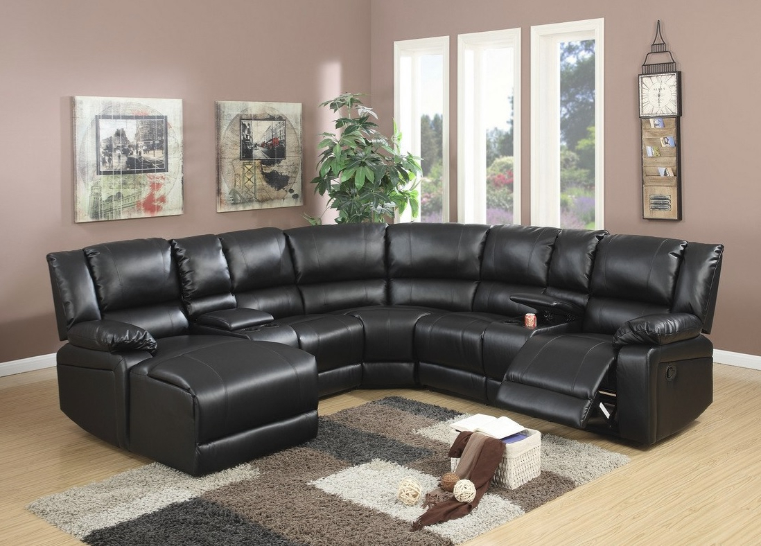 Latest Reclining Sectional Set F6745 – Casye Furniturecasye Furniture Inside Tess 2 Piece Power Reclining Sectionals With Laf Chaise (View 8 of 20)