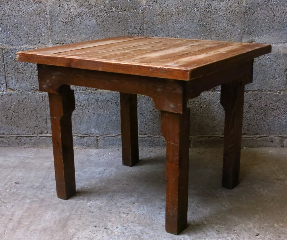 Latest Simple Pine Coffee Table – Antique Church Furnishings Inside Antique Pine Coffee Tables (View 15 of 20)