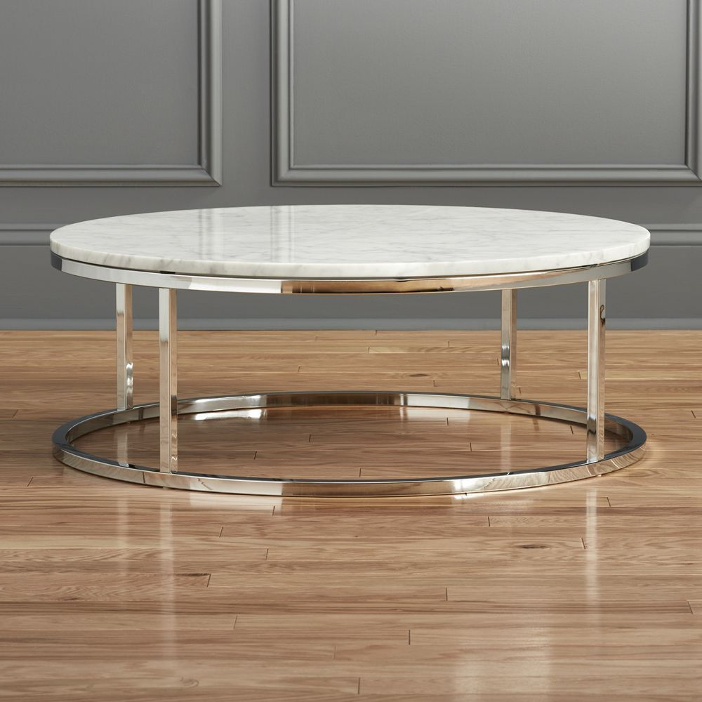 Latest Smart Round Marble Top Coffee Tables In Smart Round Marble Top Coffee Table (View 9 of 20)