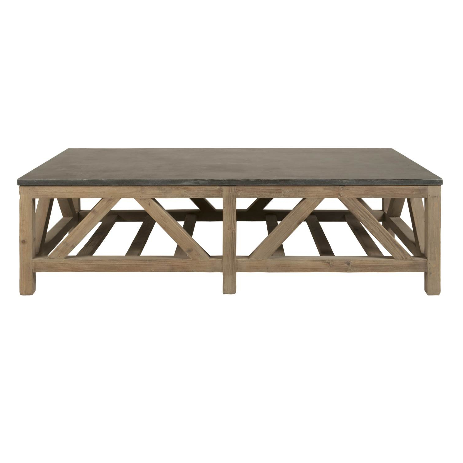 Latest Stone Top Coffee Tables Pertaining To Blue Stone Coffee Table (View 8 of 20)