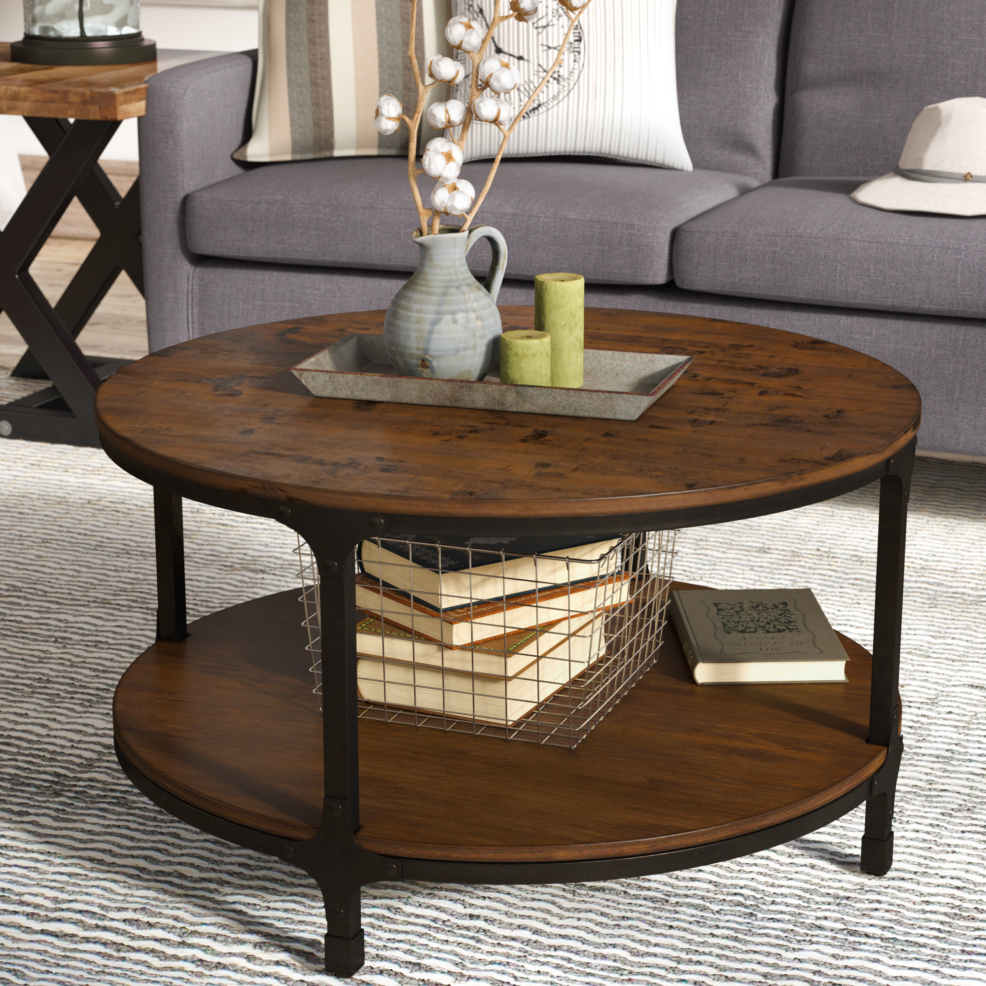 Laurel Foundry Modern Farmhouse Carolyn Coffee Table & Reviews (View 6 of 20)