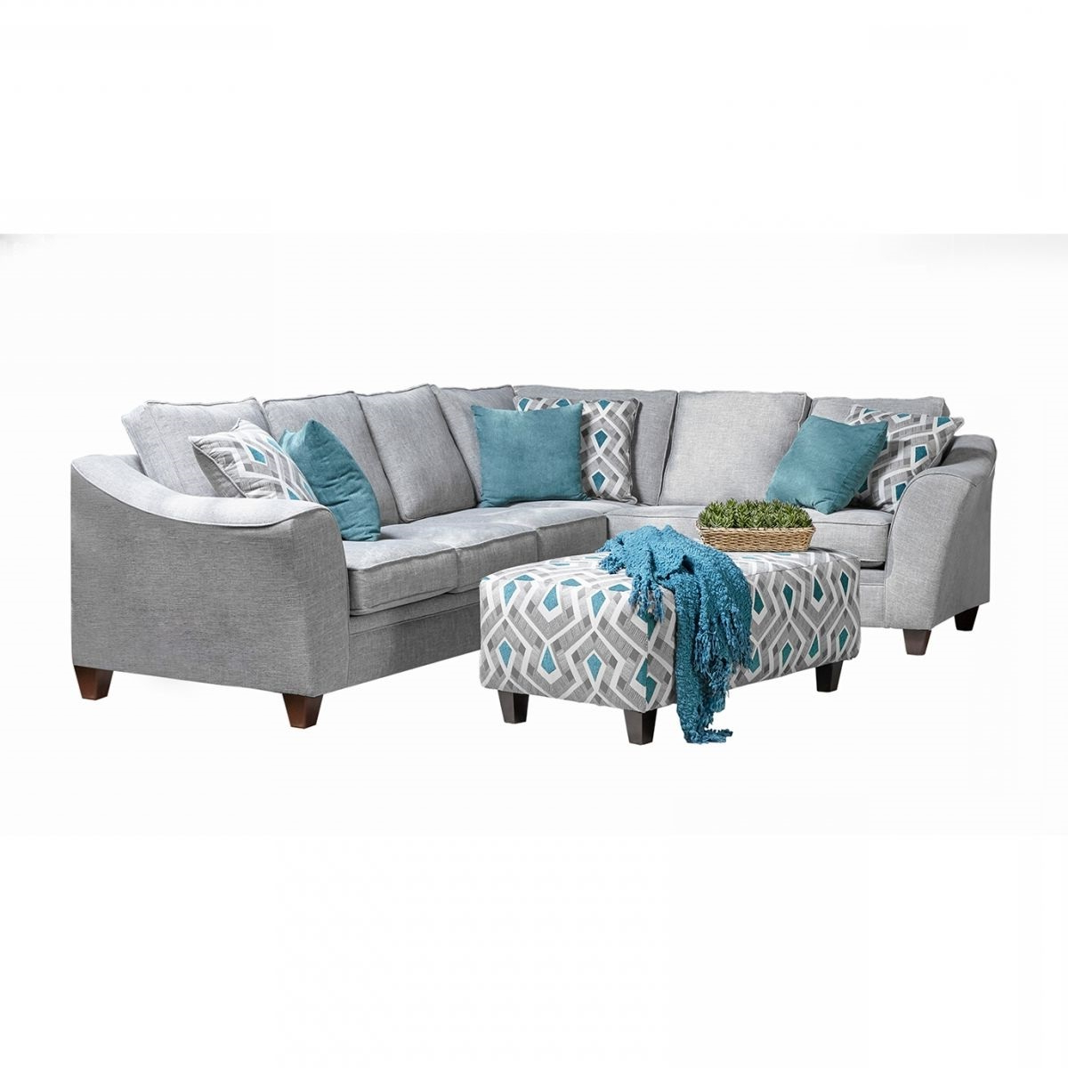Lexi Grey 2 Pc Sectional (View 12 of 20)