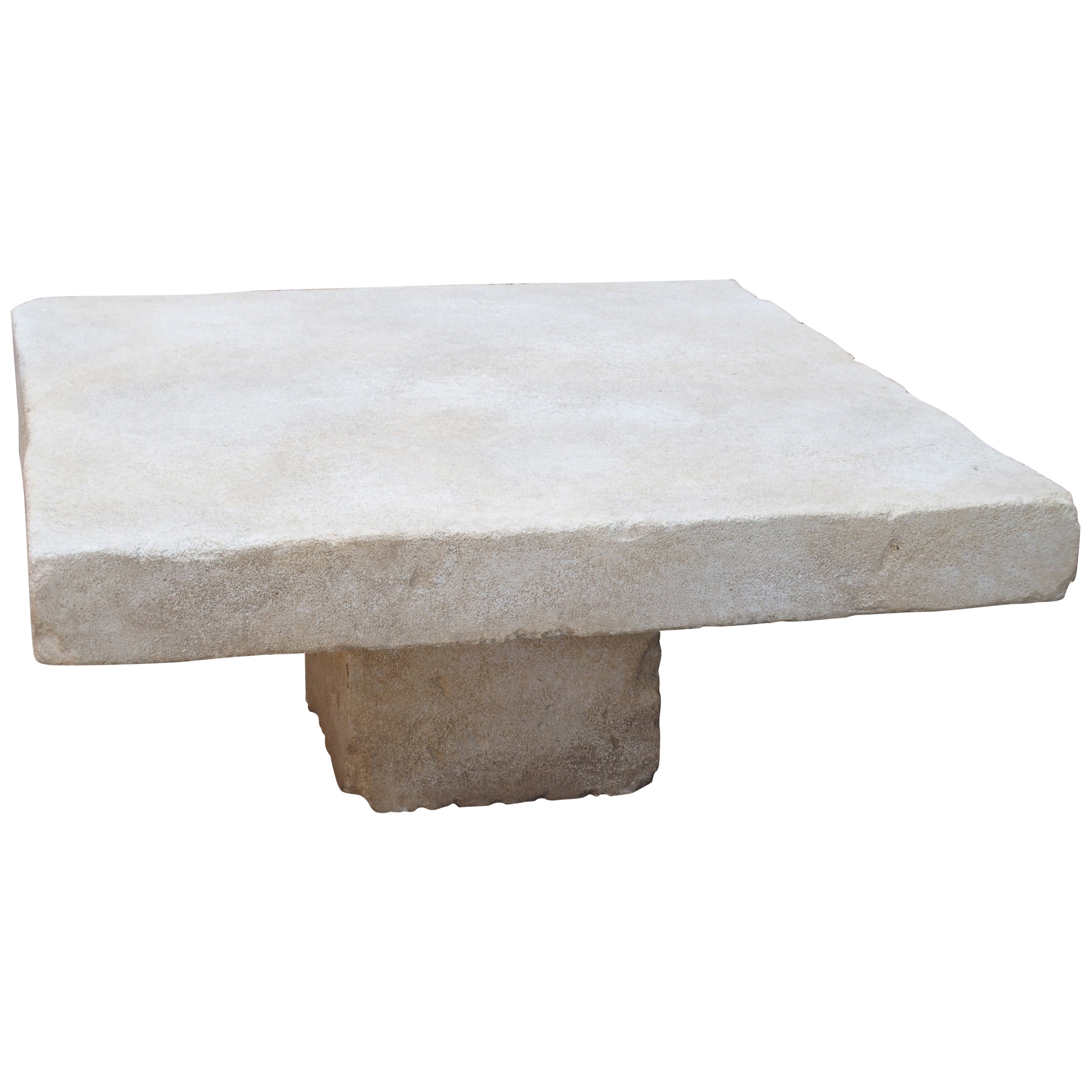 Limestone Coffee Table From The South Of France At 1Stdibs For Recent Rectangular Barbox Coffee Tables (View 7 of 20)