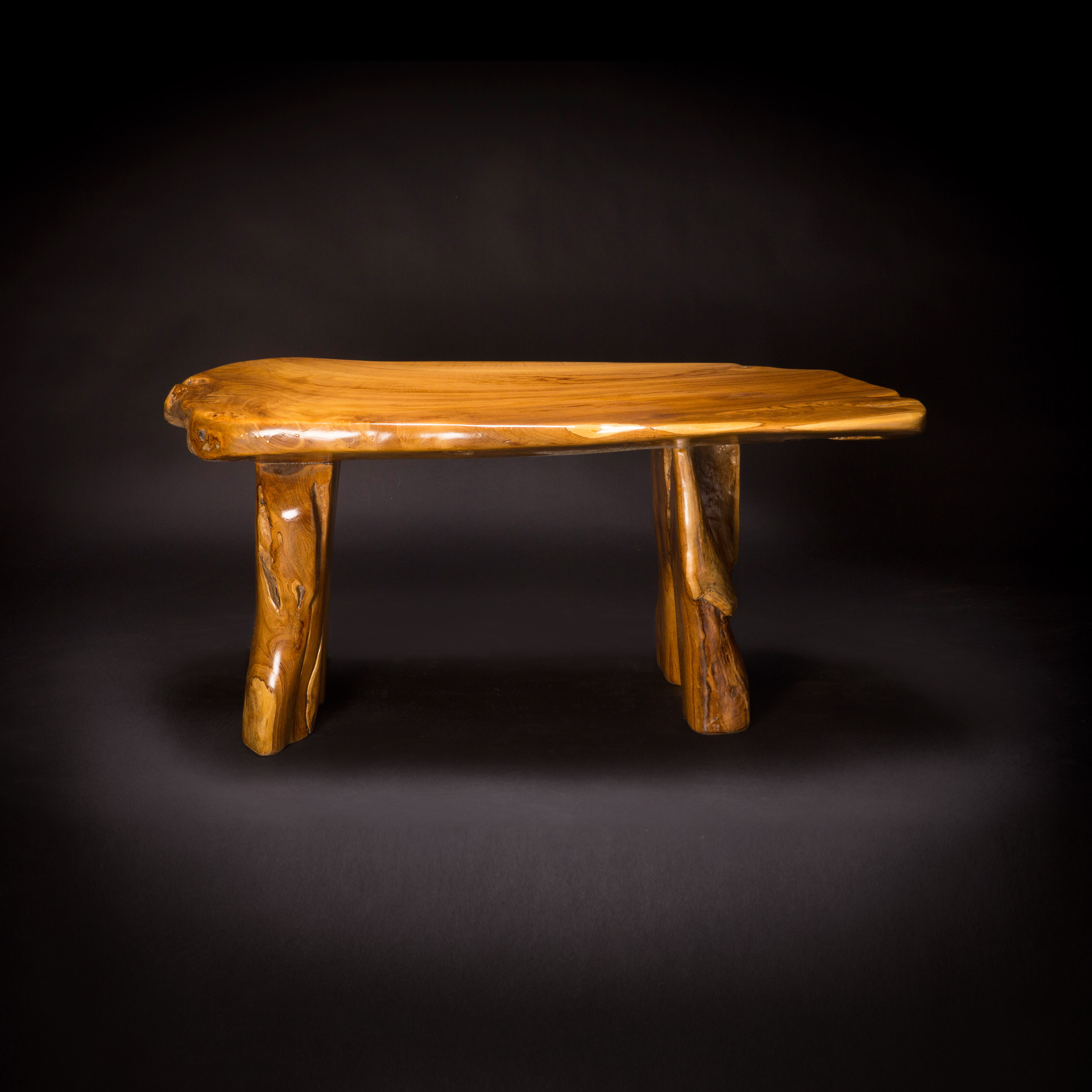 Live Edge Teak Coffee Tables Within 2019 Live Edge Coffee Table – Decora Loft (Gallery 20 of 20)