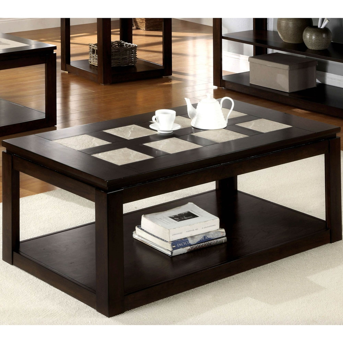 Living Room Tables Regarding Verona Cocktail Tables (Gallery 4 of 20)