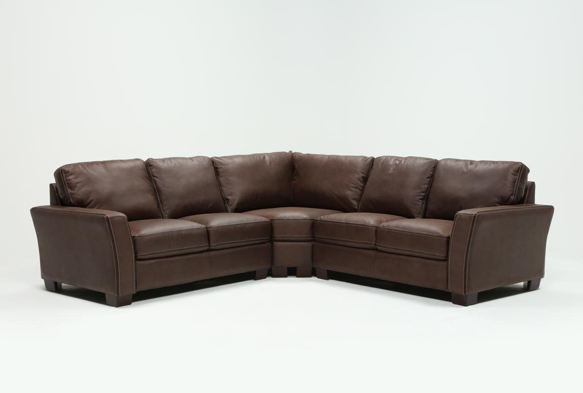 Living Spaces Intended For Latest Declan 3 Piece Power Reclining Sectionals With Left Facing Console Loveseat (View 12 of 20)