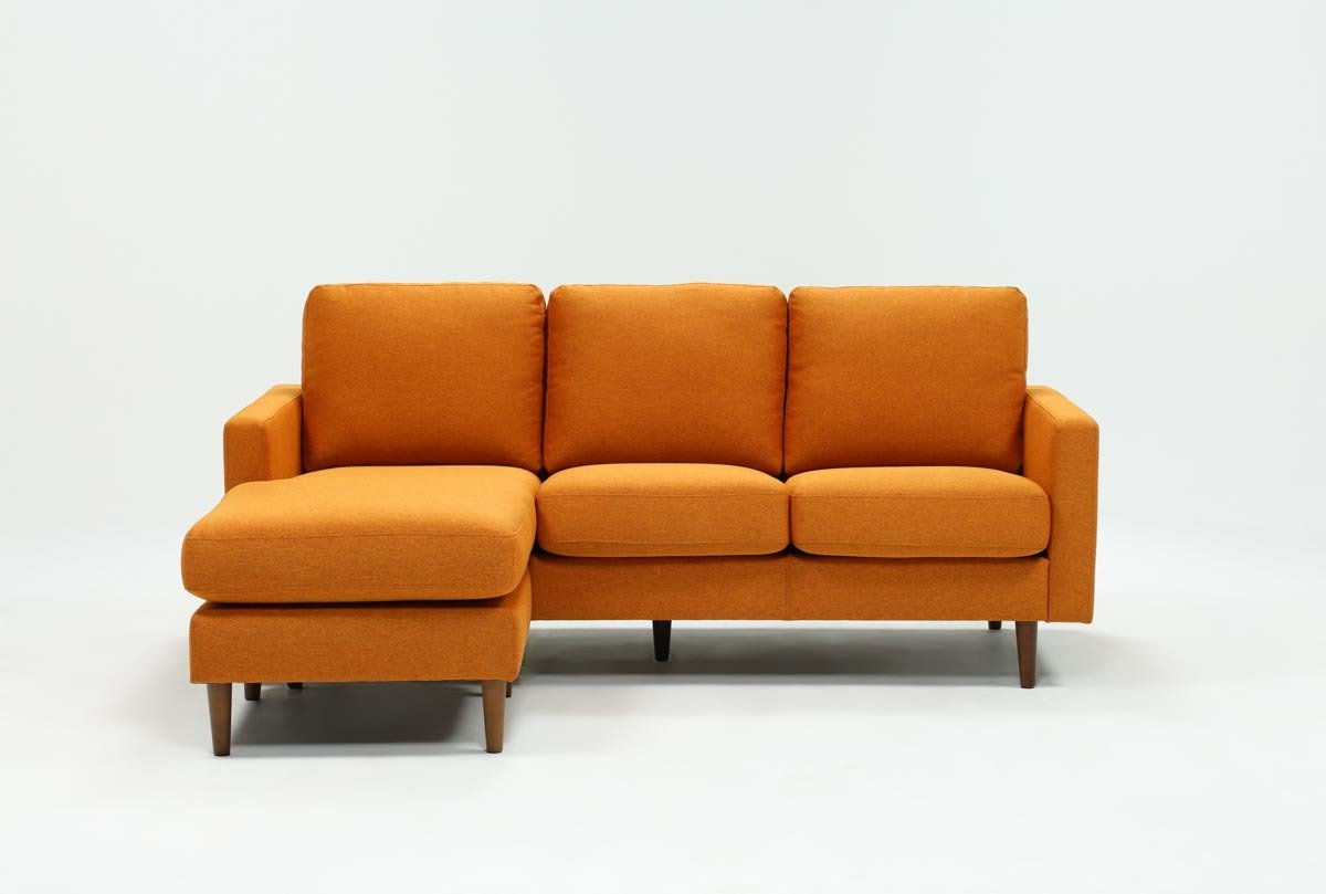 Living Spaces Pertaining To London Optical Reversible Sofa Chaise Sectionals (Gallery 17 of 20)