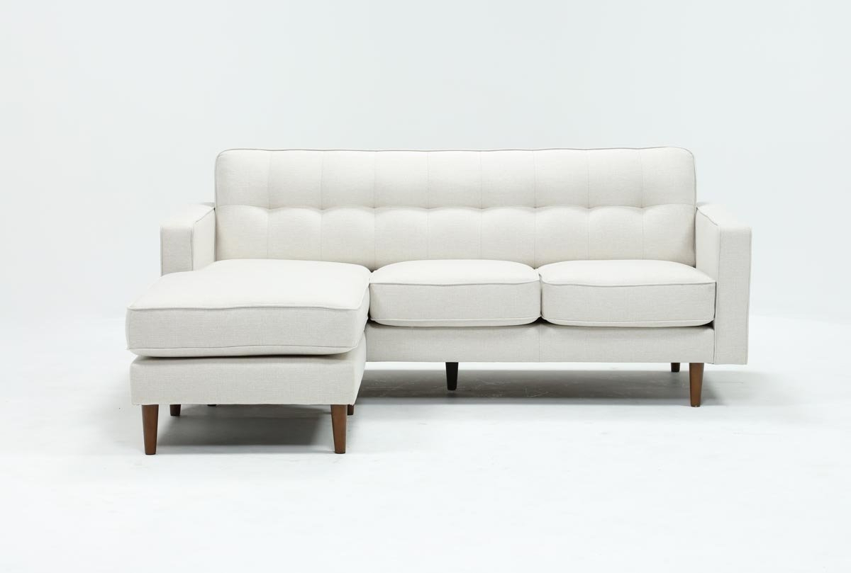 Living Spaces Pertaining To Recent London Optical Reversible Sofa Chaise Sectionals (Gallery 1 of 20)