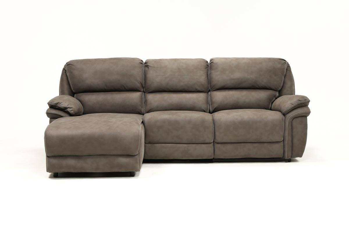 Living Spaces Regarding Best And Newest Norfolk Chocolate 6 Piece Sectionals With Raf Chaise (View 14 of 20)