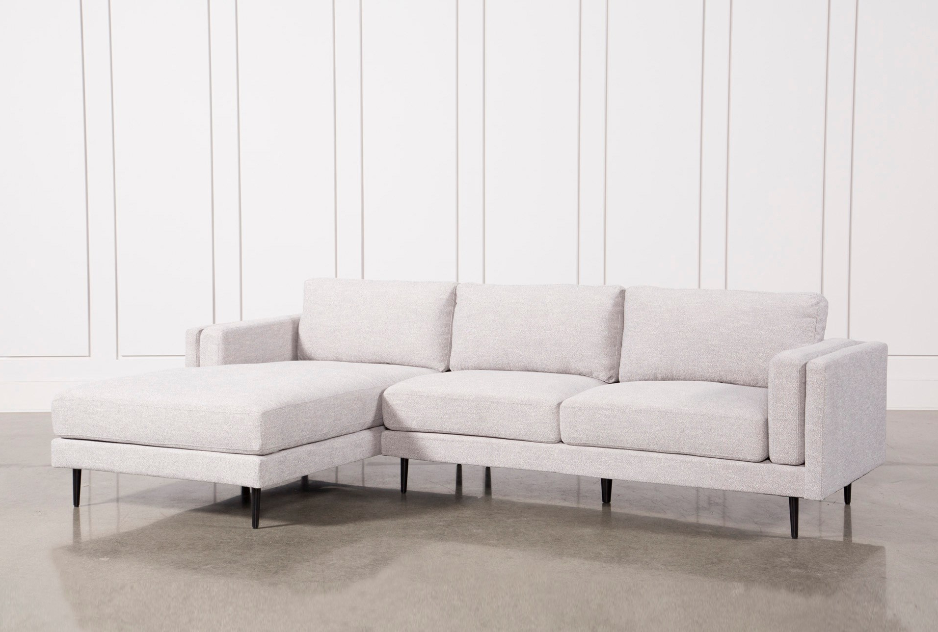Living Spaces Sectional Couches – Tidex With Famous Delano 2 Piece Sectionals With Laf Oversized Chaise (View 10 of 20)