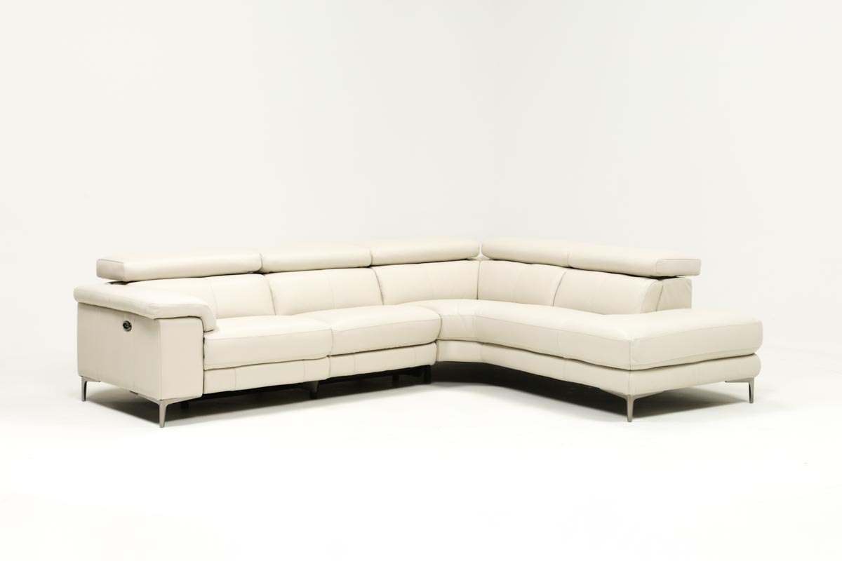 Living Spaces Throughout Tess 2 Piece Power Reclining Sectionals With Laf Chaise (Gallery 1 of 20)