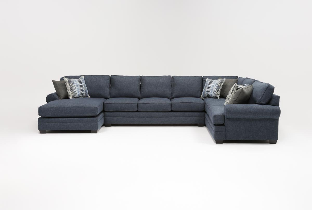 Living Spaces With Marissa Ii 3 Piece Sectionals (View 10 of 20)