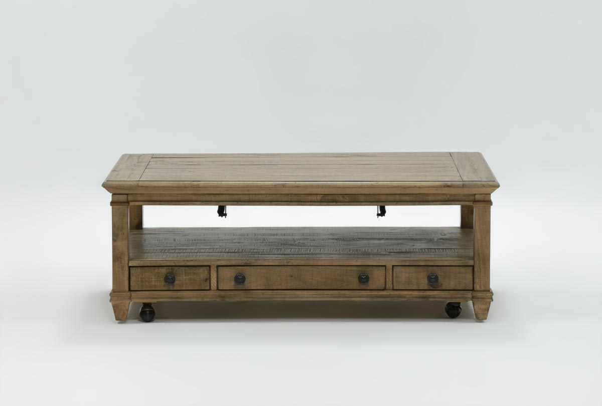 Living Spaces Within 2019 Market Lift Top Cocktail Tables (Gallery 1 of 20)
