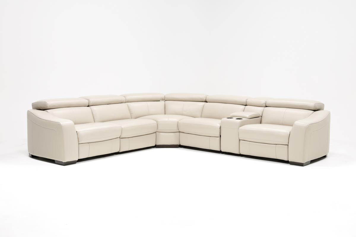 Living Spaces Within Most Up To Date Kristen Silver Grey 6 Piece Power Reclining Sectionals (Gallery 1 of 20)