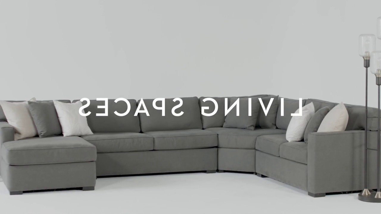 Living Spaces – Youtube For Preferred Alder 4 Piece Sectionals (View 2 of 20)